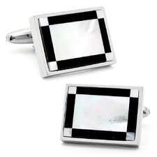 Rectangular Art Deco Cufflinks