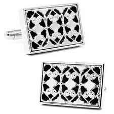 Framed Onyx Rectangle Cufflinks
