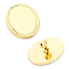 16mm Rope Border Blazer Button