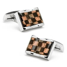 Waive Check Cufflinks