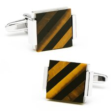 Floating Striped Cufflinks