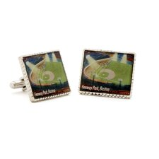Fenway Park Stamp Cufflinks