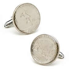 Buffalo Nickel Cufflinks