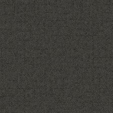 "Beech Tree Lane Square 19.69"" x 19.69"" Carpet Tile in Gray"