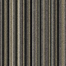 "Birch Parkway Square 19.69"" x 19.69"" Carpet Tile in Gray Stripe"