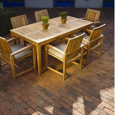 <strong>Kingsley Bate</strong> Amalfi 7 Piece Dining Set