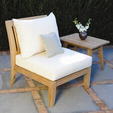 <strong>Kingsley Bate</strong> Ipanema Sectional - Deep Seating Armless Chair