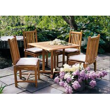 <strong>Kingsley Bate</strong> Evanston 5 Piece Dining Set