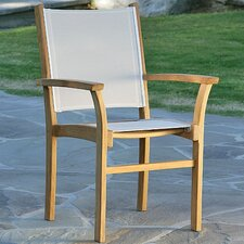 <strong>Kingsley Bate</strong> St.Tropez Stacking Dining Arm Chair