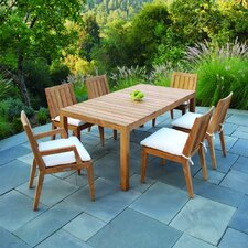 <strong>Kingsley Bate</strong> Mendocino Rectangular Dining Set