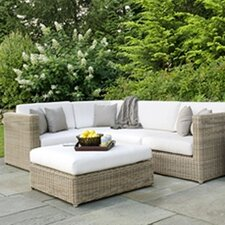 Sag Harbor Sectional Deep Seating Group with Cushions
