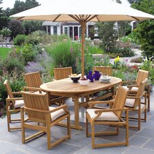 Essex Oval Extension Dining Table 100""