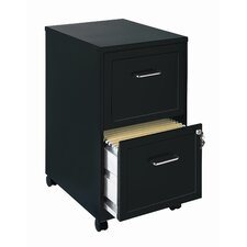 "<strong>CommClad</strong> Home Office 18"" Deep 2 Drawer Vertical Mobile File Cabinet"