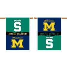 <strong>BSI Products</strong> NCAA House Divided 2-Sided Banner