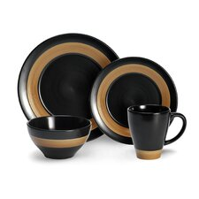 Everyday Concentric 16 Piece Dinnerware Set
