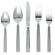 Delano Frost 20 Piece Flatware Set