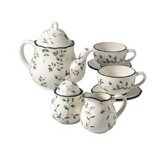 Winterberry 7 Piece Small Tea Set