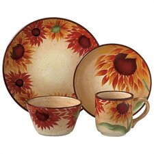 Evening Sun 16 Piece Dinnerware Set
