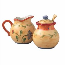 Napoli Sugar and Creamer Set