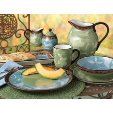 Patio Garden Dinnerware Set