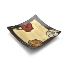 "Painted Poppies 9.25"" Plate"