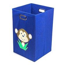 Monkey Folding Laundry Bin