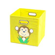 Monkey Folding Toy Storage Bin