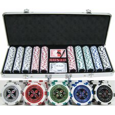"500 Piece ""Ultimate Poker"" Chip Set"