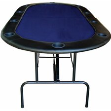 "84"" Foldable Texas Hold'em Poker Table"