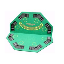 <strong>JP Commerce</strong> 2 in 1 Poker / Blackjack Table Top