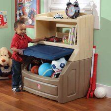Lift and Hide Bookcase Storage Toy Box