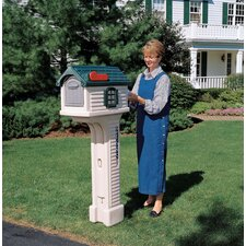 Villager Post Mounted Mailbox