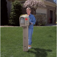 Trimline Standard Post Mounted Mailbox