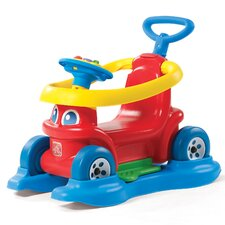 4-in-1 Rock 'n Stroll Rider Car