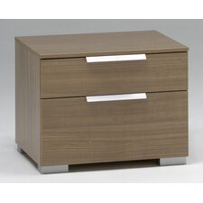 <strong>Wildon Home ®</strong> Valencia 2 Drawer Nightstand