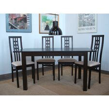 Moderna 5 Piece Dining Set
