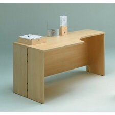 <strong>Wildon Home ®</strong> 600 Series Right L-Shaped Executive Desk