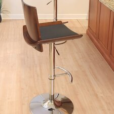 Vittorio Adjustable Swivel Bar Stool