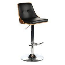 Nueva Adjustable Height Swivel Bar Stool