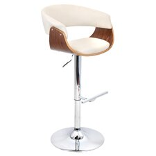Vintage Mod Adjustable Swivel Bar Stool