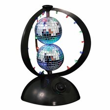 "Disco Planet 8.75"" H Table Lamp"