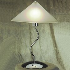 """Contemporary Lighting Doeli Touch 19"""" H Table Lamp  with Cone Shade"""