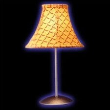 """Contemporary Lighting Retro 15.5"""" H Table Lamp with Bell Shape"""