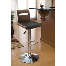 "Viera 26"" Adjustable Swivel Bar Stool with Cushion"
