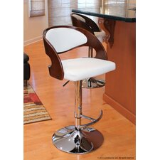 Pino Barstool in Cherry / White