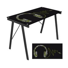 Headphone Music Exponent Writing Desk