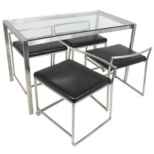 Fuji 5 Piece Dining Set