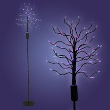 Fiber Optic Tree Floor Lamp