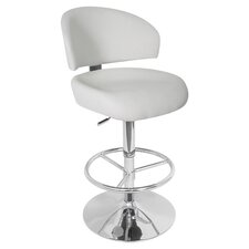 Regent Adjustable Height Swivel Barstool
