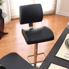 "<strong>LumiSource</strong> Locust 24"" Adjustable Swivel Bar Stool"